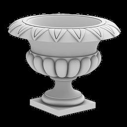 МАФ-04 Вазон. Раздел: Фасадный декор, фасадная лепнина, классический стиль, стеклофибробетон