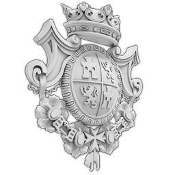 МАФ-21 Герб. Раздел: Фасадный декор, фасадная лепнина, классический стиль, стеклофибробетон