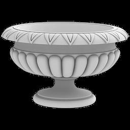 МАФ-06 Вазон. Раздел: Фасадный декор, фасадная лепнина, классический стиль, стеклофибробетон